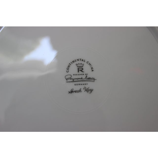"""Mid-Century Modern Rosenthal """"Athenia"""" Dinner Service for 8 Plus Serving Pieces - 63 Items Total For Sale - Image 12 of 13"""