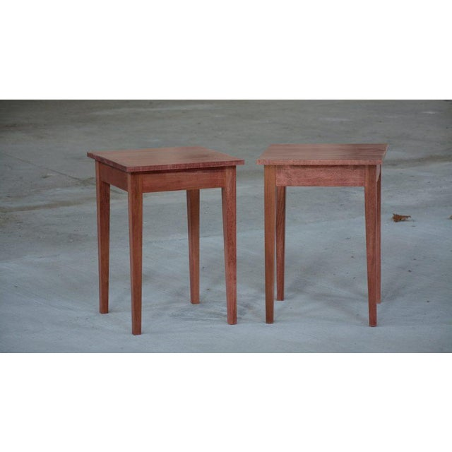 Shaker Sedona Poplar Side Table - Image 5 of 5