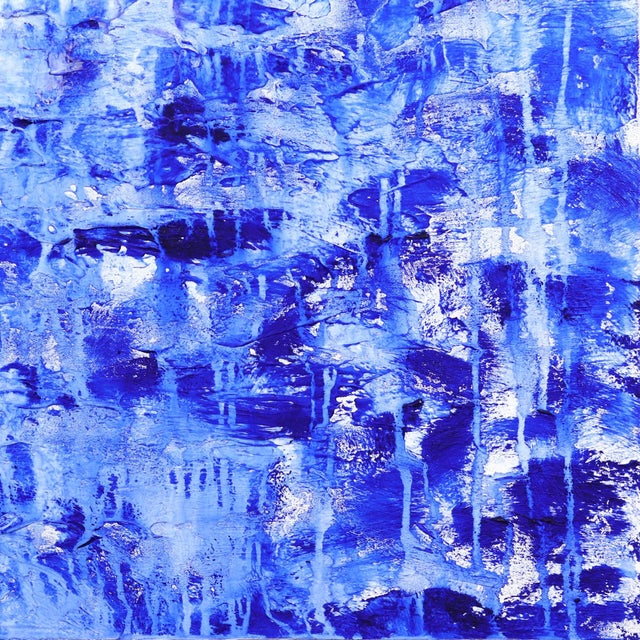 2020s ''Oceanic Escape'' Contemporary Abstract Acrylic Painting by Clara Berta For Sale - Image 5 of 9