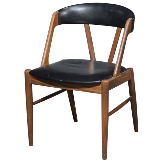 Rare Danish Armchair in the Style of Kai Kristiansen For Sale