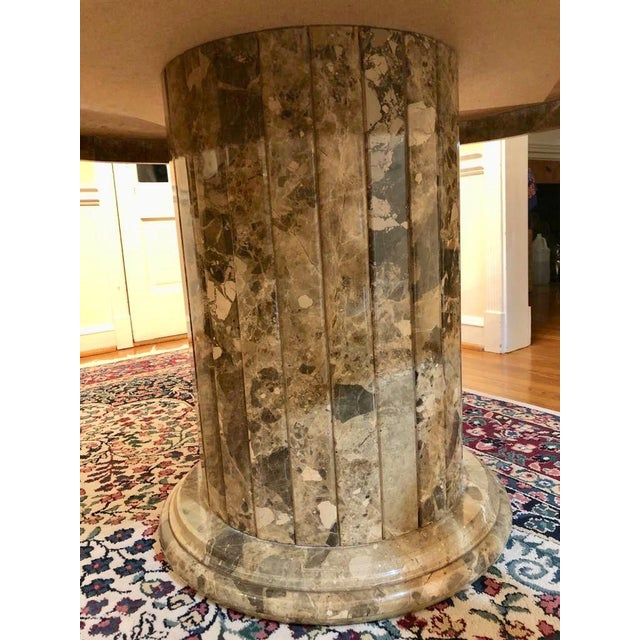 Mid 20th Century Mid-Century Round Marble Dining Table For Sale In Washington DC - Image 6 of 13