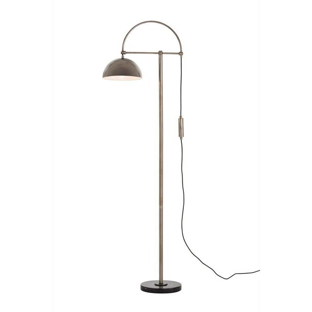 Arteriors Home Jillian Vintage Style Silver Floor Lamp For Sale - Image 12 of 12