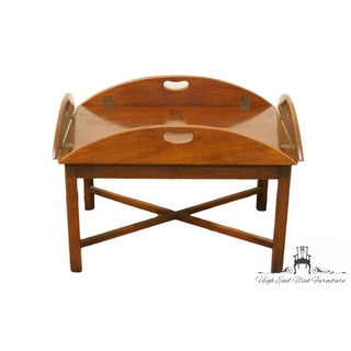 Late 20th Century Vintage Hickory Chair Co. Coffee Table Preview