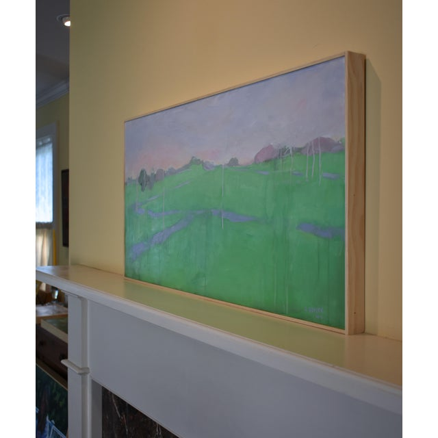 "Stephen Remick ""Spring Rising"" Contemporary Painting For Sale - Image 9 of 11"