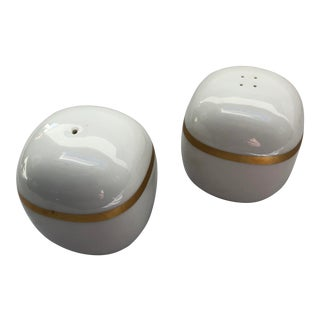 Vintage Suomi Banquet Gold Rosenthal Salt & Pepper Shakers - a Pair For Sale