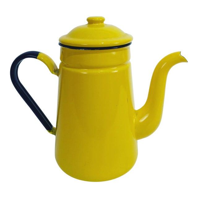 Vintage Yellow Tea Pot - Image 1 of 7