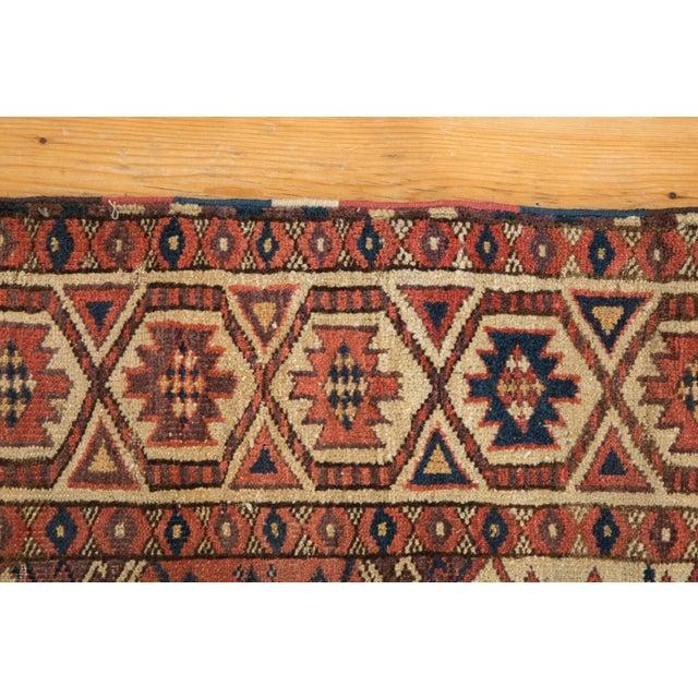 "Cottage Antique Beshir Carpet - 8'9"" X 14' For Sale - Image 3 of 13"