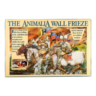 """Animalia Wall Frieze"" by Graeme Base Fantasy Posters Book For Sale"