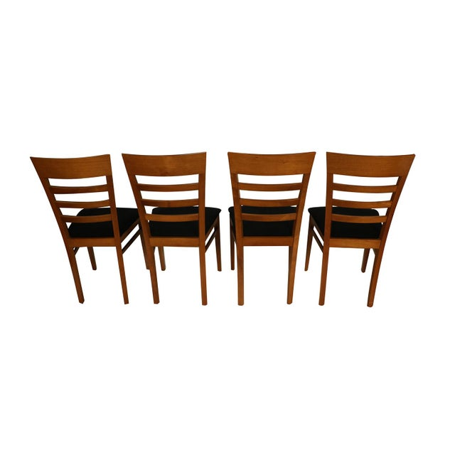 1980s Four A. Sibau Italian Vintage Dining Room Chairs For Sale - Image 5 of 13