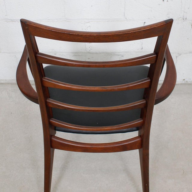 Koefoed Hornslet Danish Modern Rosewood Dining Chairs - Set of 6 For Sale - Image 5 of 10