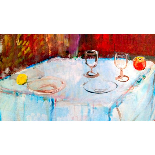 Mary Asher-Trautmann Tabletop Still Life Oil Painting - Image 4 of 8