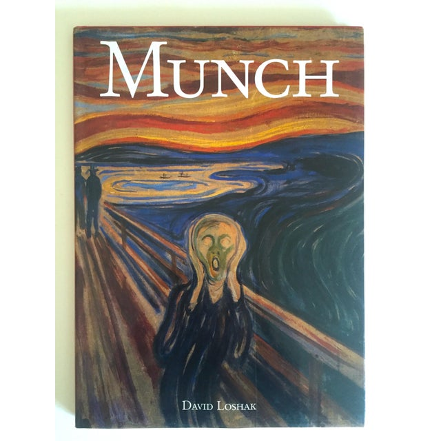 """"""" Munch """" First Edition Vintage 1990 Expressionist Hardcover Art Book For Sale - Image 13 of 13"""