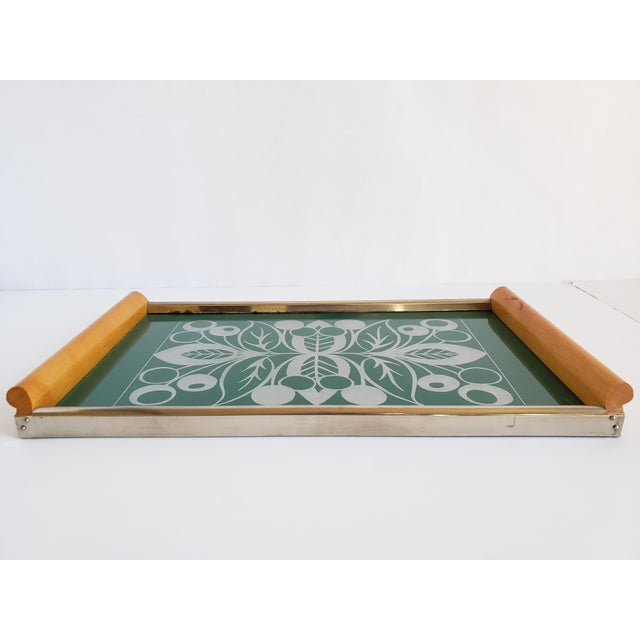 Mid Century Modern Serving Tray For Sale - Image 11 of 12