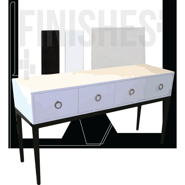 """Style - """"Sideboard - The Short and the Narrow"""" With compartments to place linen(s) - napkins - flat wear - and below..."""