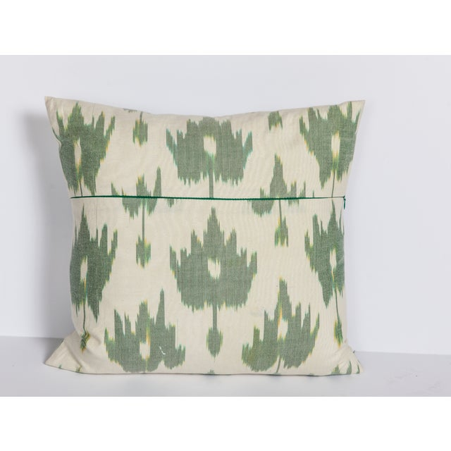 Boho Chic Lulu DK Ikat Pillow For Sale - Image 3 of 3