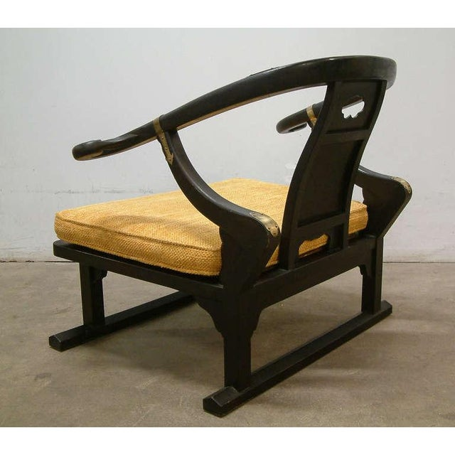 "Michael Taylor for Baker ""Far East Collection"" Lounge Chair For Sale - Image 5 of 10"