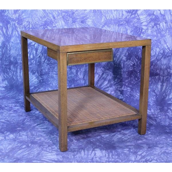 Metal Harvey Probber Mid-Century Modern End Table For Sale - Image 7 of 10