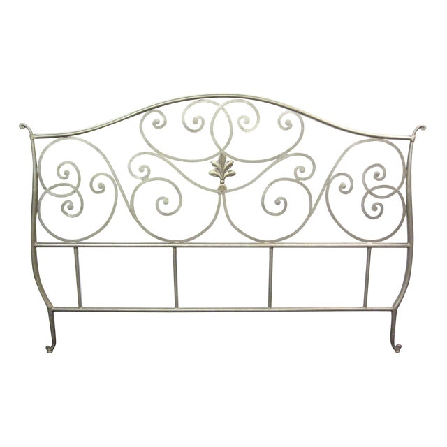 Metal Scroll Design King Size Bed - Image 1 of 5