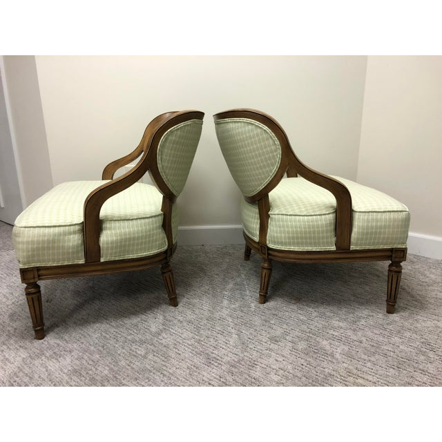 Grosfeld House Inspired Bedroom Chairs - a Pair For Sale In Atlanta - Image 6 of 11
