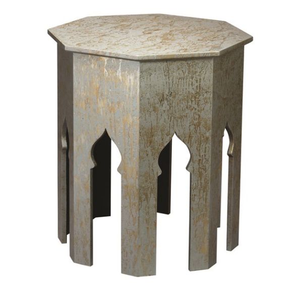 Inspired By Classic Moroccan Design Motifs, This Octagonal Side Table Is  Given A Fresh Look