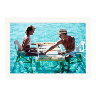 """Slim Aarons, """"Keep Your Cool,"""" January 1, 1978 Getty Images Gallery Framed Art Print For Sale"""