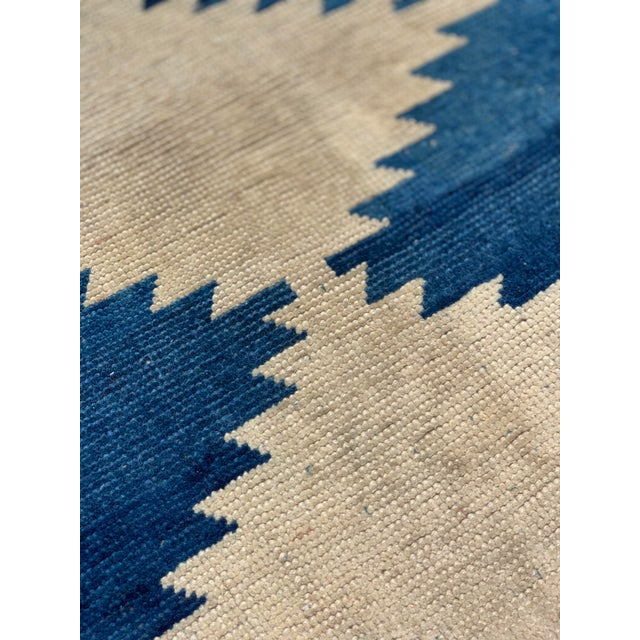 1950s 1950's Vintage Persian Gabbeh Tribal Rug- 3′1″ × 5′9″ For Sale - Image 5 of 11