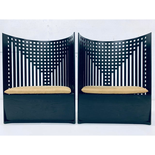Charles Rennie Mackintosh Willow Chairs - a Pair For Sale - Image 13 of 13