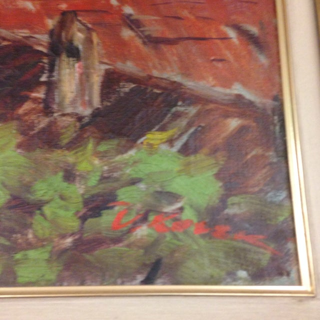 Original Italy Landscape Oil Painting For Sale - Image 5 of 7