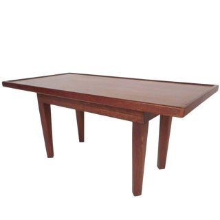 Midcentury Walnut Coffee Table For Sale