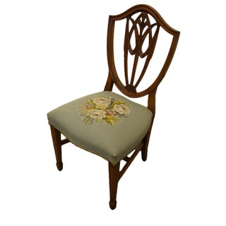 1960's Vintage Duncan Phyfe Shield Back Dining Side Chair Preview