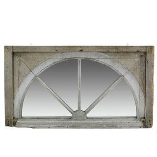 18th Century Georgian Wood Window Mirror For Sale