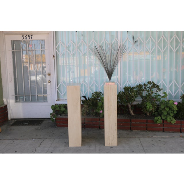 """Contemporary Bertoia Style """"Spray"""" Sculpture For Sale - Image 3 of 6"""