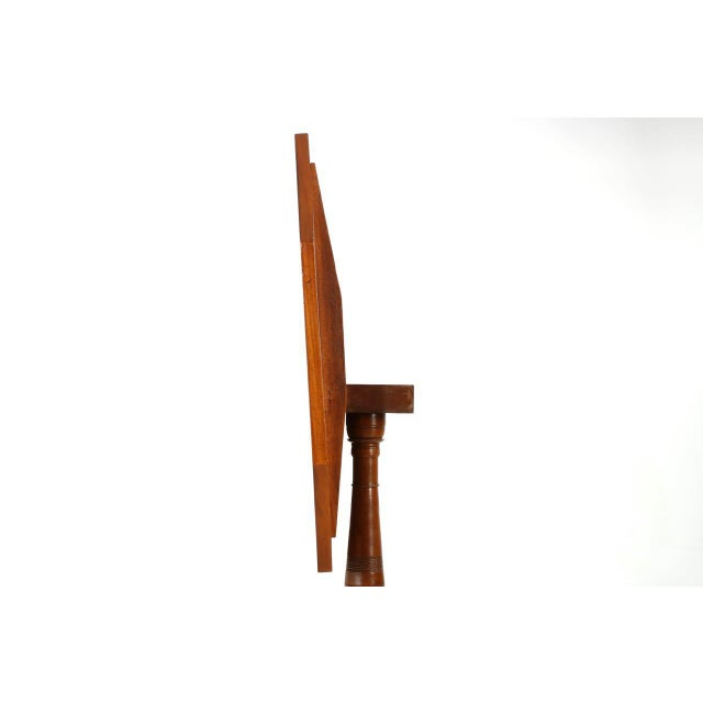 1805-15 American Federal Mahogany Tilting Candle Stand For Sale - Image 6 of 10