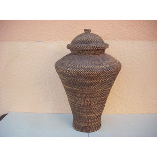 East Asian Basket Urn Preview