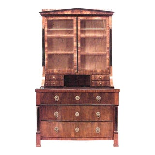 Austrian Biedermeier Bookcase For Sale