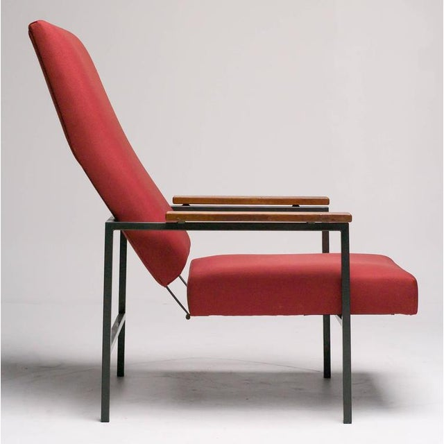 Red Lotus Lounge Chair by Rob Parry for Gelderland For Sale - Image 8 of 8