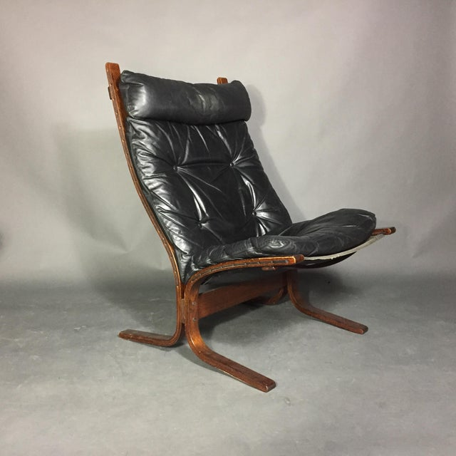 "1960s Ingmar Relling ""Siesta"" Lounge Chair + Ottoman, Norway 1960s For Sale - Image 5 of 12"
