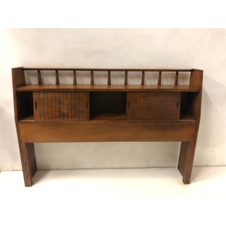 Mid-Century Modern Full/Queen Headboard Att. Drexel Preview