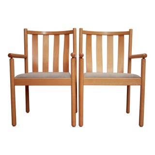 Italian Stendig Postmodern Armchairs, a Pair For Sale