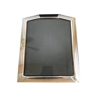 "Bevel Edge Silver Frame 8"" X 10"" For Sale"