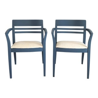 Art Deco Side Chairs - A Pair