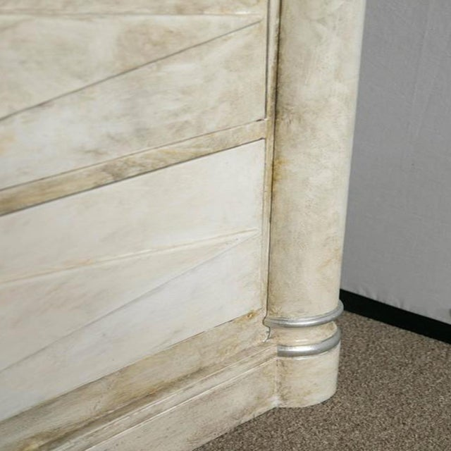 Faux Painted Marble Top Dressers- A Pair - Image 7 of 9