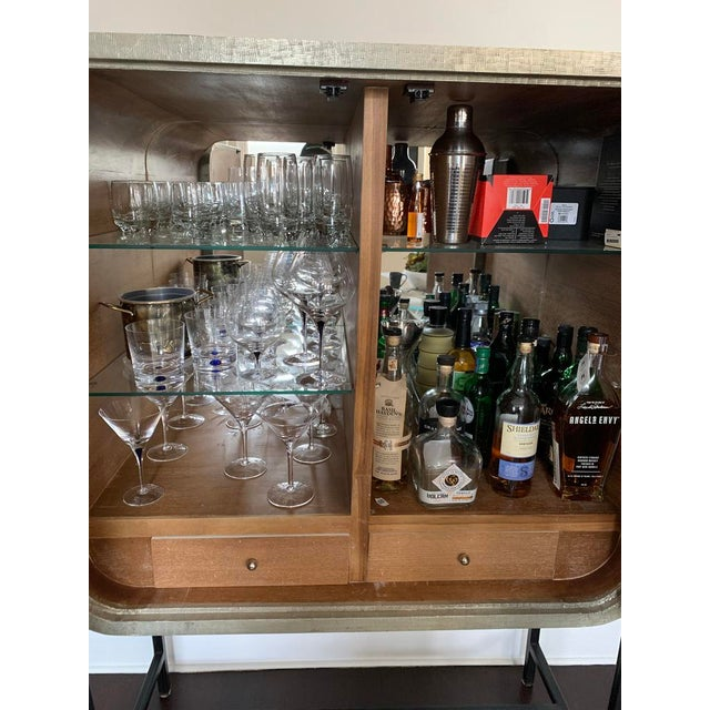 """Metal """"Milan"""" Funky Bar Cabinet by Selemat For Sale - Image 7 of 8"""