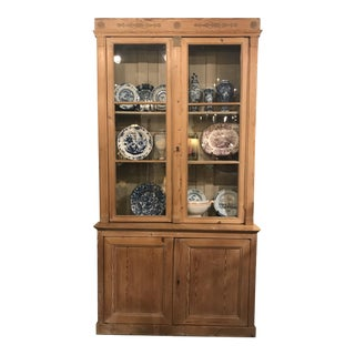 19th Century French Empire Pine Cabinet For Sale