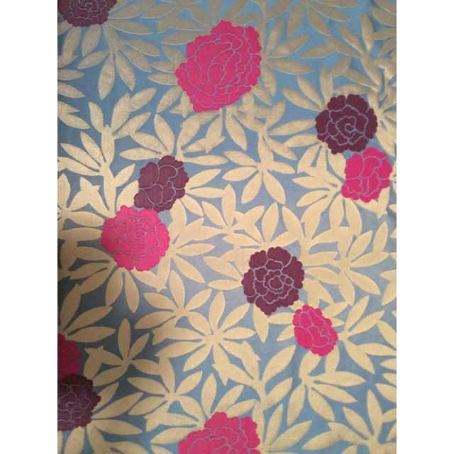 Osborne & Little Pink & Purple Peonies Fabric- 2 Yards - Image 1 of 5