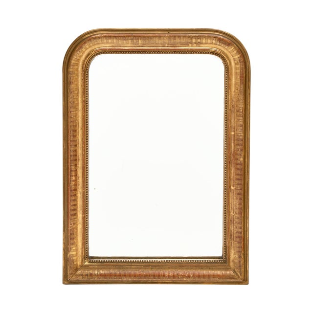 Louis Philippe Period Gold Leaf Mirror For Sale - Image 10 of 10
