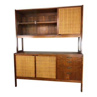 Florence Knoll Credenza with Upper Hutch
