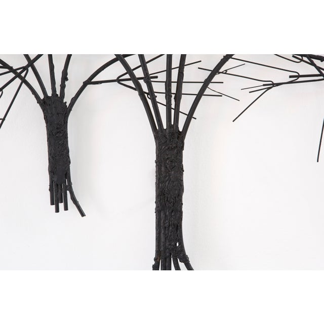 C. Jere Wall Sculpture 'Birds & Trees' - Image 6 of 8