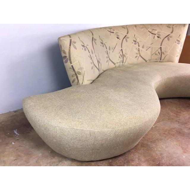 Vladimir Kagan Biboa Serpentine Sofa - Image 3 of 10