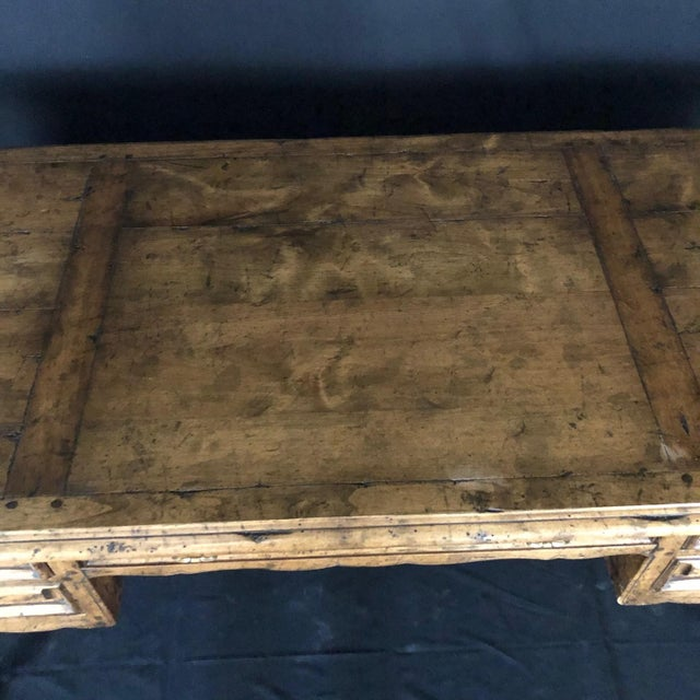 Country French Provincial Desk by Guy Chaddock For Sale In Portland, ME - Image 6 of 13